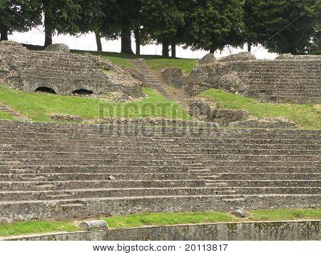 Roman Theatre In Autun