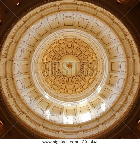 Dome Of Texas Capitol, Austin Tx