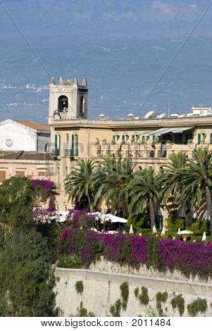 Villa Hotel Taormina Italy