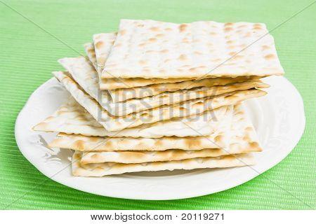 Jewish Matza bread