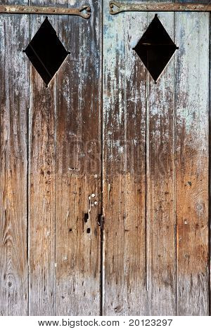 Weathered Wooden Doors