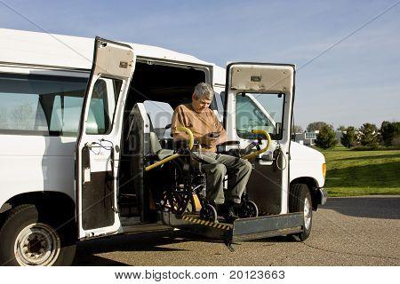 Disabled Wheelchair Lift