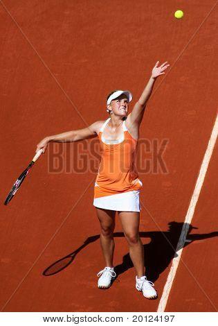 Melanie Oudin (usa) At Roland Garros 2011