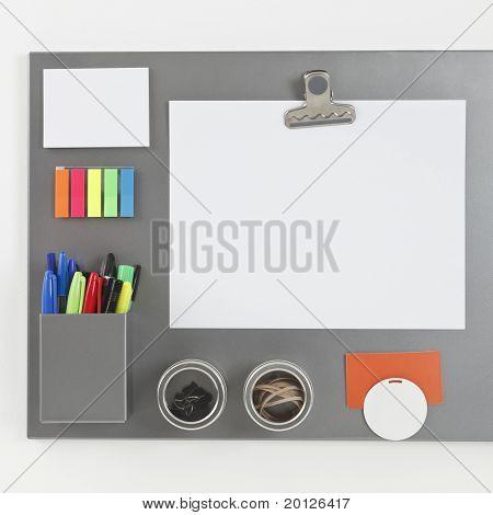Gray Magnetic Board