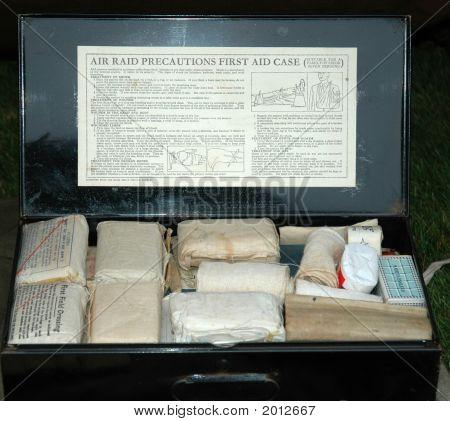World War 2 First Aid Box