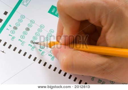 Taking An Exam