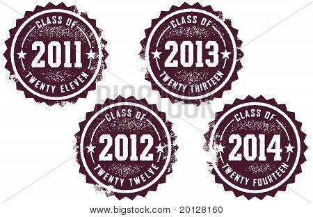 Class of 2011,2012,2013, & 2014 Stamps