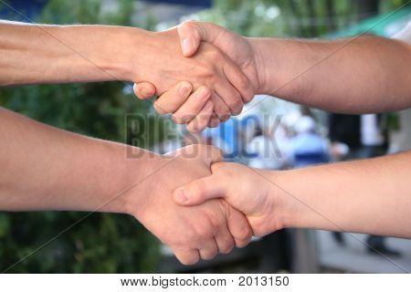Double Hand Shake