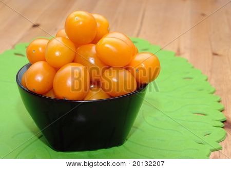 Studio photography fresh tomato .