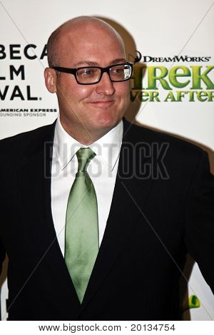 NEW YORK - APRIL 21: Director Mike Mitchell attends the 2010 TriBeCa Film Festival opening night premiere of 'Shrek Forever After' at the Ziegfeld Theatre on April 21, 2010 in New York City.