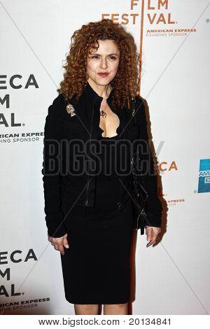 NEW YORK - APRIL 22: Actress Bernadette Peters attends the