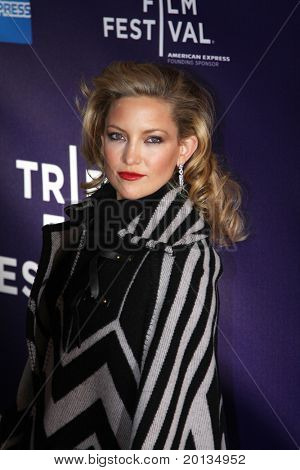 """NEW YORK - APRIL 27: Actress Kate Hudson attends the premiere of """"The Killer Inside Me"""" at the School of Visual Arts Theater during the 2010 TriBeCa Film Festival on April 7, 2010 in New York City."""