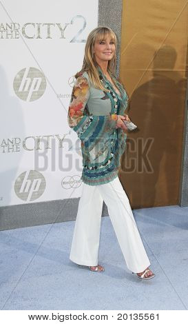 "NEW YORK - MAY 24: Actress Bo Derek attends the premiere of ""Sex and the City 2"" at Radio City Music Hall on May 24, 2010 in New York City."