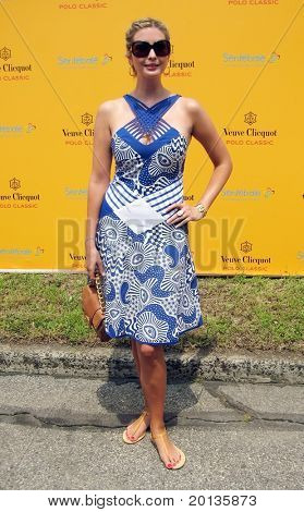 NEW YORK - JUNE 26: Ivanka Trump attends the Veuve Clicquot Polo Classic at Governor's Island on June 26, 2010 in New York City.