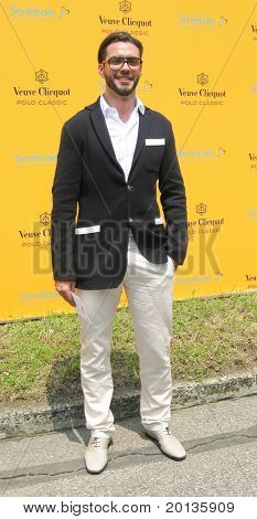 NEW YORK - JUNE 27: Lorenzo Martone attends the 3rd annual Veuve Clicquot Polo Classic at Governor's Island on June 27, 2010 in New York City.