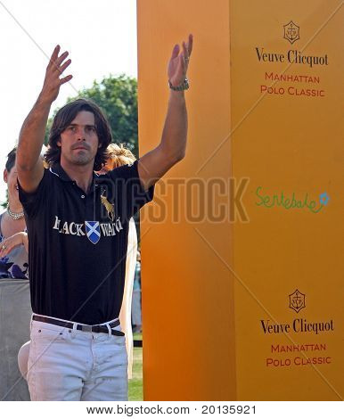 NEW YORK - MAY 30: Argentine polo player Nacho Figueras attends the Veuve Clicquot Manhattan Polo Classic at Governors Island on May 30, 2009 in New York City.
