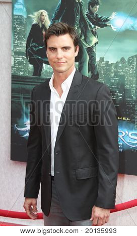 """NEW YORK - JULY 6: Actor Colin Egglesfield attends the premiere of """"The Sorcerer's Apprentice"""" at the New Amsterdam Theatre on July 6, 2010 in New York City."""