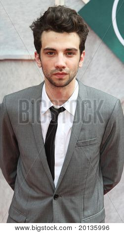 """NEW YORK - JULY 6: Actor Jay Baruchel attends the premiere of """"The Sorcerer's Apprentice"""" at the New Amsterdam Theatre on July 6, 2010 in New York City."""