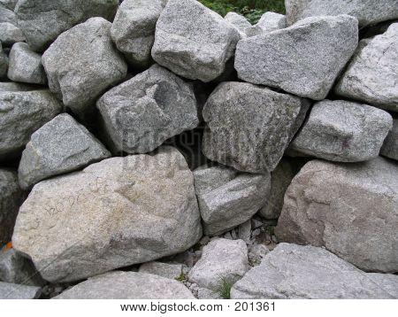 Rocks Close Up