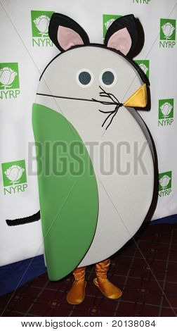 NEW YORK - OCTOBER 29: Mascot Birdie attends the 15th Annual Bette Midler's New York Restoration Project's Hulaween at the Waldorf-Astoria Hotel on October 29, 2010 in New York City.