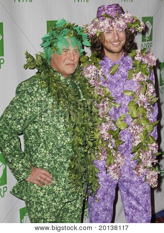 NEW YORK - OCTOBER 29: Designer Michael Kors and Lance Lepere attend the 15th Annual Bette Midler's New York Restoration Project's Hulaween at the Waldorf-Astoria Hotel on October 29, 2010 in New York City.