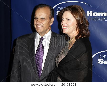 NEW YORK - NOV 11: Joe Torre and wife Alice attend the 8th Annual Joe Torre Safe at Home Foundation Gala at Pier Sixty at Chelsea Piers on November 11, 2010 in New York City.