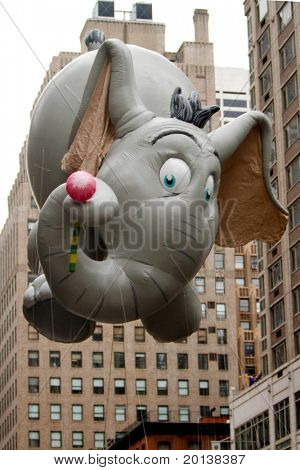 NEW YORK - NOVEMBER 25: The Dumbo float appears in the 84th Macy's Thanksgiving Day Parade on November 25, 2010 in New York City.