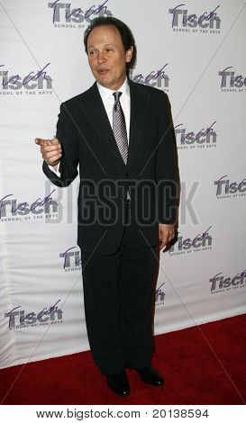 NEW YORK - DECEMBER 6: Comedian Billy Crystal attends the Face of Tisch gala at the Frederick P. Rose Hall at Lincoln Center on December 6, 2010 in New York City.