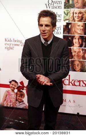 """NOVA YORK - 15 de dezembro: Ben Stiller atende a estréia mundial de """"Little Fockers"""" no o Ziegfeld"""