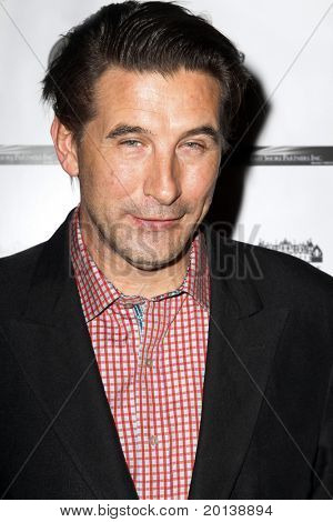 HUNTINGTON, NY - JANUARY 6: Actor Billy Baldwin attends the Midwinter Night's Dream fundraiser event  for ALS Research held at Oheka Castle on January 6, 2011 in Huntington, New York.