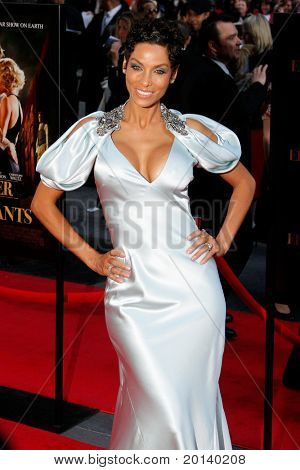 "NEW YORK - APRIL 17:  Model Nicole Murphy attends the premiere of ""Water for Elephants"" at the Ziegfeld Theatre on April 17, 2011 in New York City."
