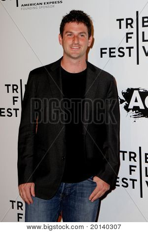 "NEW YORK - APRIL 20: Jared Cohen attends the opening night premiere of ""The Union"" at the 2011 TriBeCa Film Festival at North Cove at World Financial Center Plaza on April 20, 2011 in New York City."