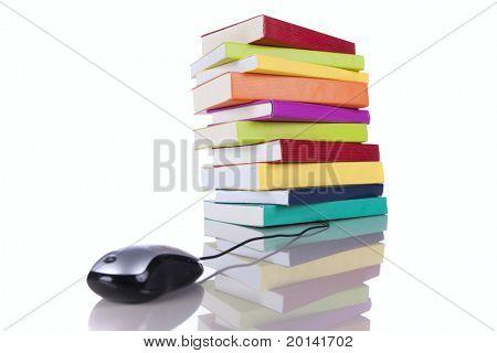 online information access concept (selective focus)