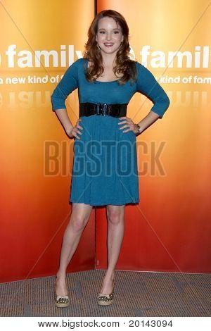 LOS ANGELES - MAY 14:  Kay Panabaker at the Disney ABC Television Group May Press Junket 2011 at ABC Building on May 14, 2011 in Burbank, CA