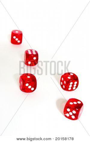 dice tossed