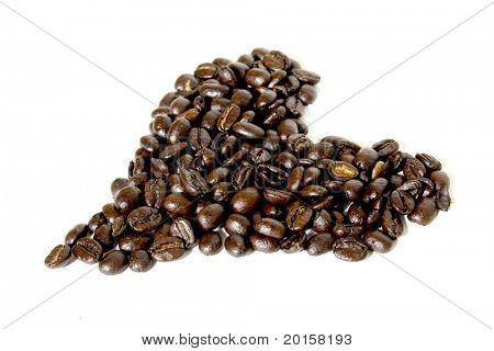 heart of coffee beans 2