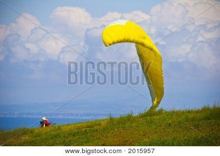 Glider Takes Flight