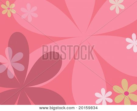 Modern Flower background
