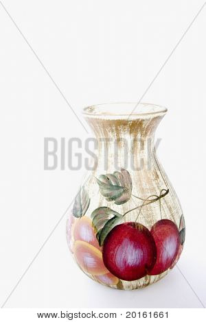 decorative vase folkart