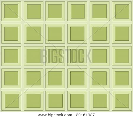 sage green retro squares