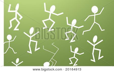 stick men movement