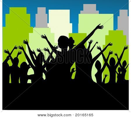 open air gathering
