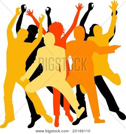 excited group vector use individually or together