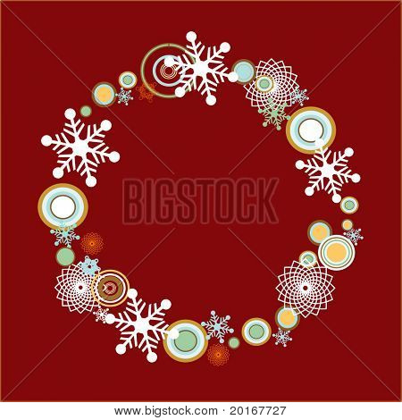 funky wreath series