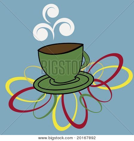 cup of java illustration