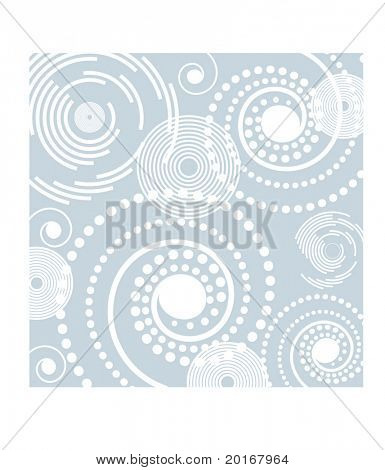 spiral and filigree background