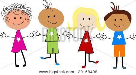 Kinder cartoon