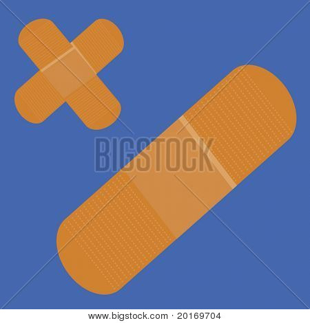 band-aids vector