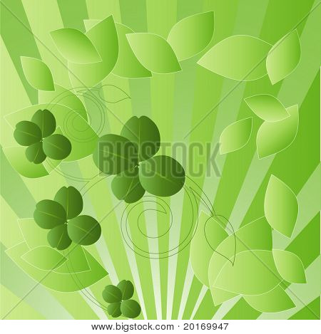 luck of the irish frame vector
