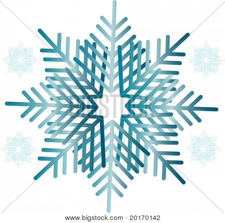 vector design de floco de neve